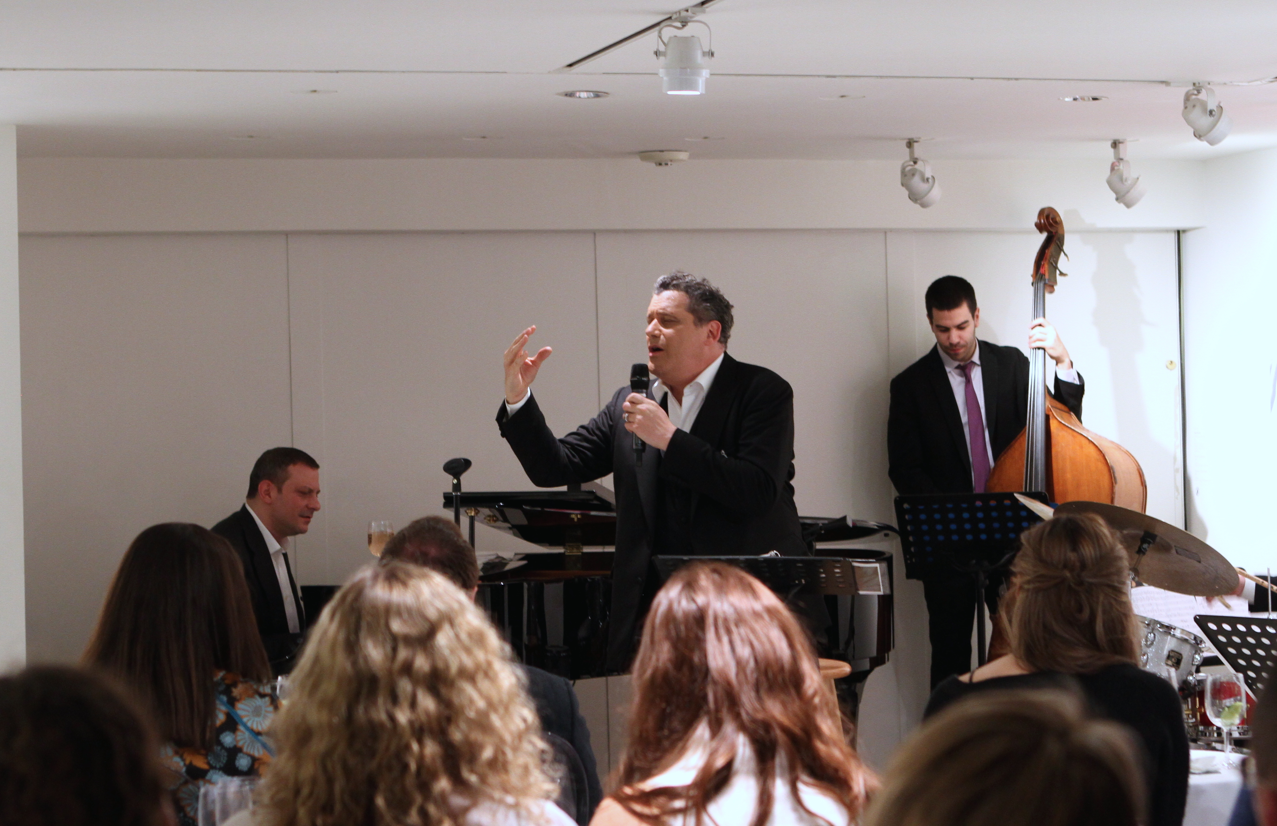 Works and Process at the Guggenheim Presents Isaac Mizrahi and the Ben Waltzer Quartet (3)