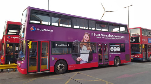 If I can drive a bus, so can you. 17396 Stagecoach London ...