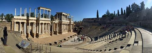 Teatro - Roman Ruins - Merida, Spain