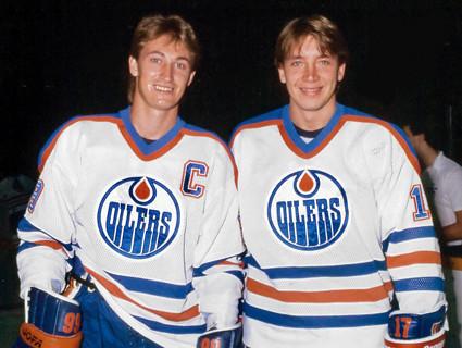 Gretzky Kurri Oilers
