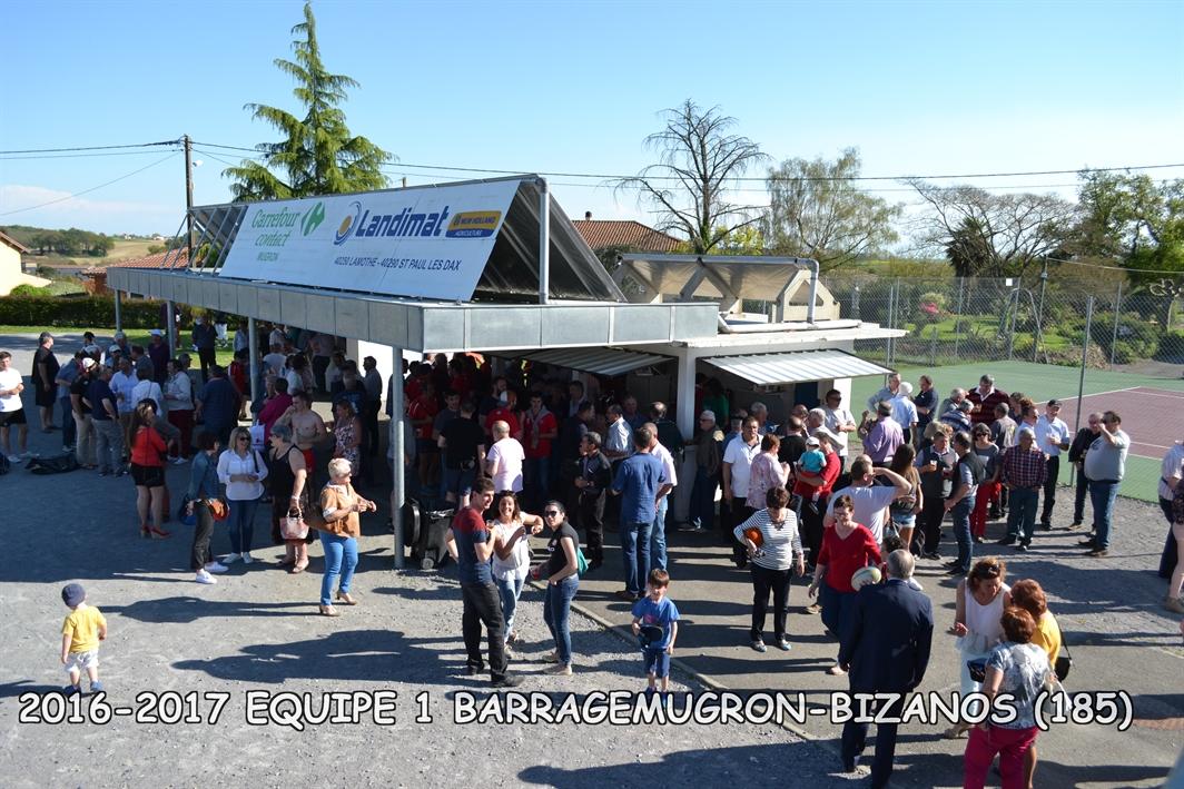 2016-2017 SENIORS 1 BARRAGE MUGRON - VILLENEUVE