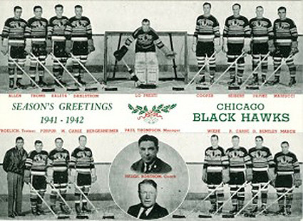 1941-42 Chicago Blackhawks team