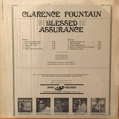 CLARENCE FOUNTAIN:BLESSED ASSURANCE(JACKET B)