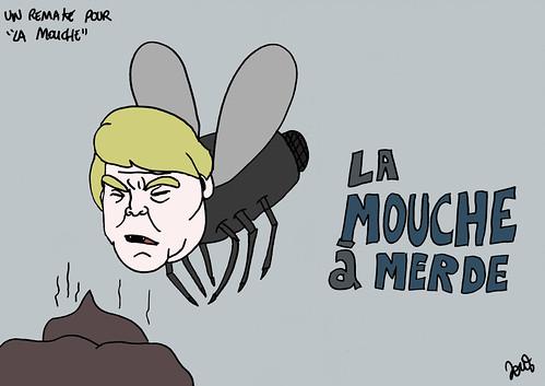 13_Remake La mouche trump