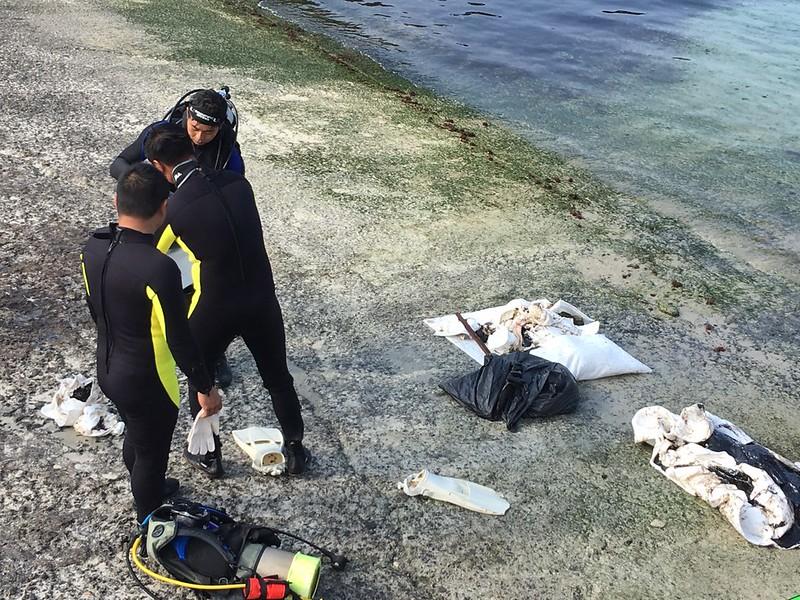 2017-03-13 綠島油污清除作業