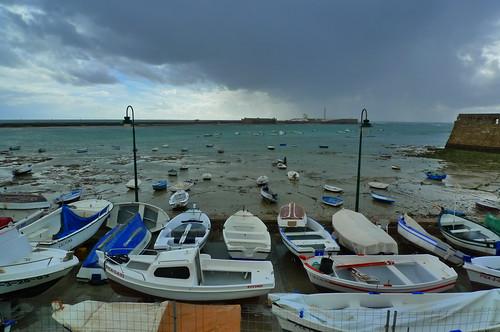 Harbour - Cadiz, Andalusia, Spain