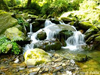 Waterfall at Prashar Lake Trek