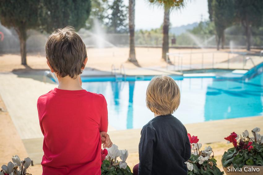 Ganas de piscina
