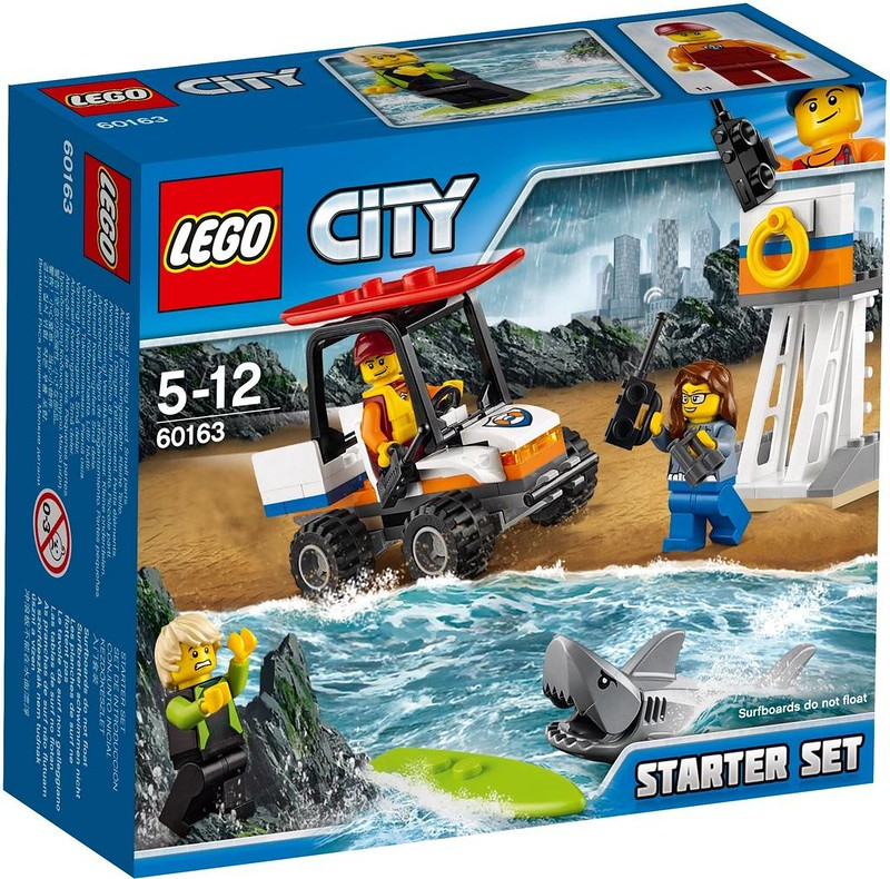 LEGO City Estate 2017 - Coast Guard Starter Set (60163)