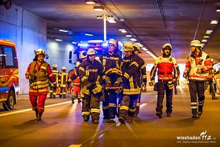 Tunnelübung A60 Mainz 02.04.17
