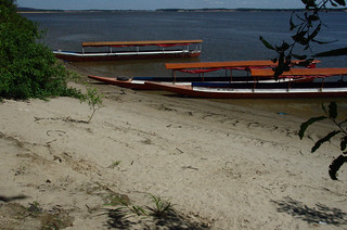 Canoes on the Orinoco River | by Aztlek