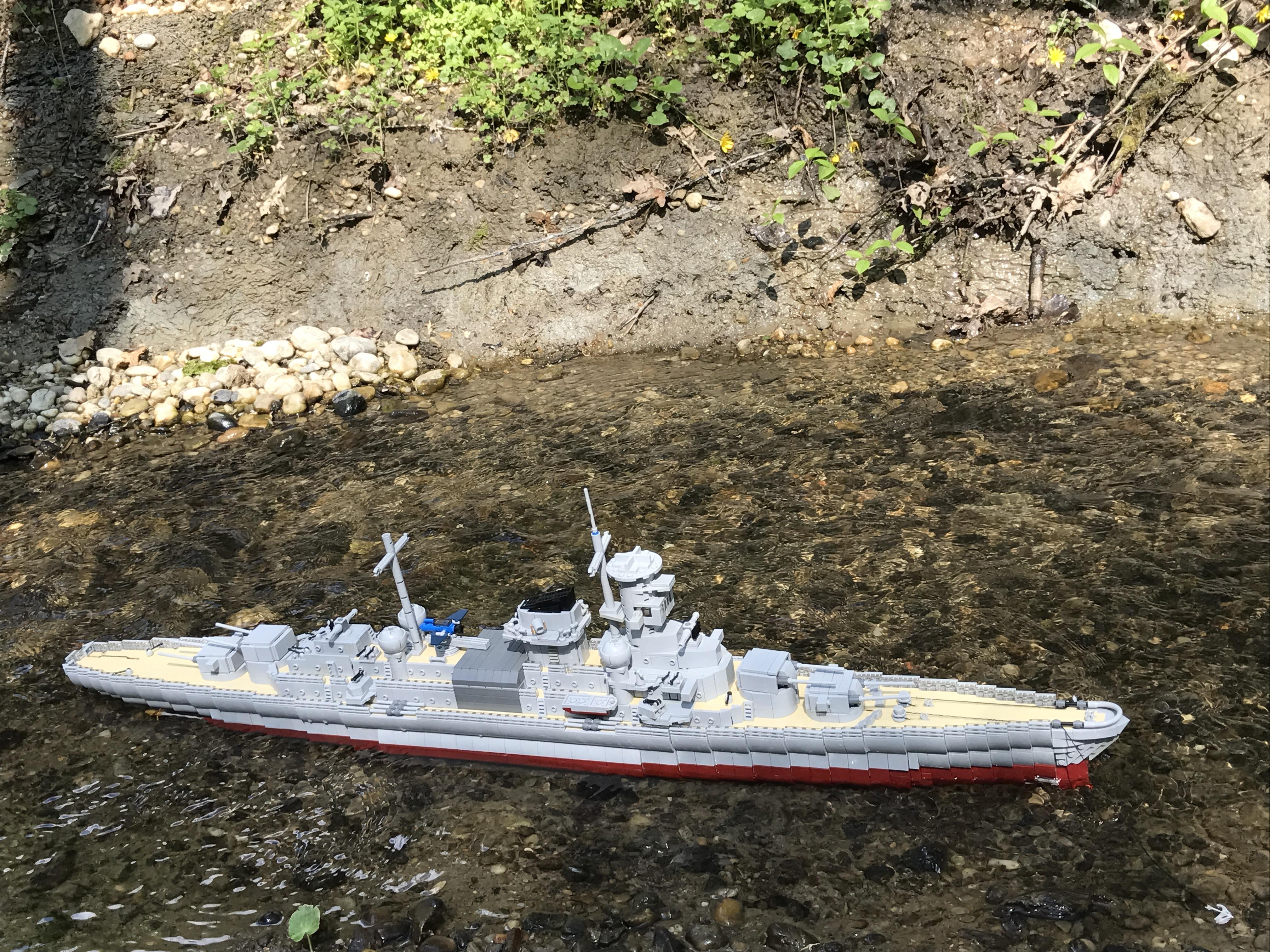 Entfernungsmesser Schiff : Re: schwerer kreuzer admiral hipper :: lego bei 1000steine.de