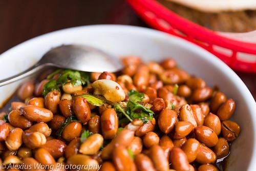 Black Vinegar Peanuts, NW Chinese Food
