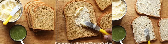 How to make Chutney sandwich recipe - Step1