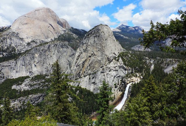 Stunning Waterfalls From The US: Nevada Fall, Yosemite National Park, California