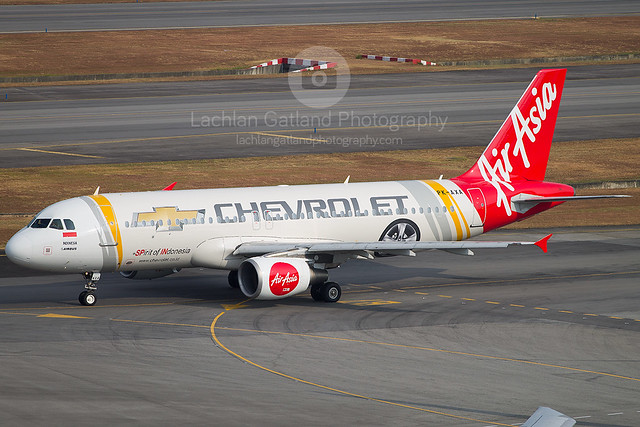 Indonesia AirAsia A320-216 PK-AXA