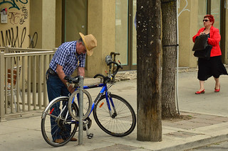 An Urban Cowboy & His Steed | by KW-2501