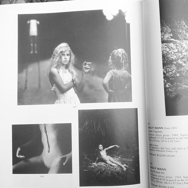 Sally Mann - Candy Cigarette, Fun Picture #3, Gum. Photogr ...