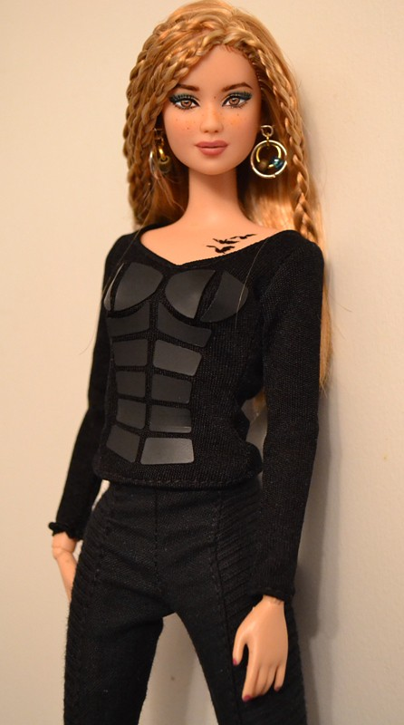 Meadow A Divergent Tris Barbie Repaint Restyle By Doll A