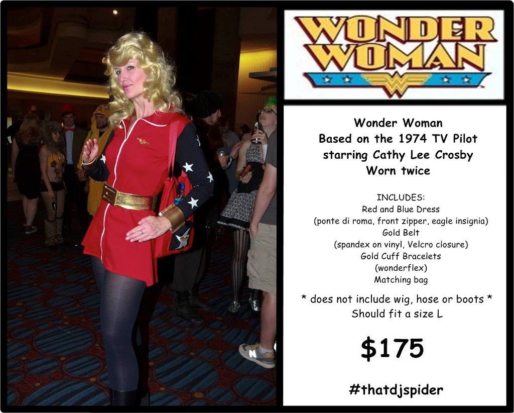 Cathy Lee Crosby Era Wonder Woman Cosplay For Sale  Flickr-8144