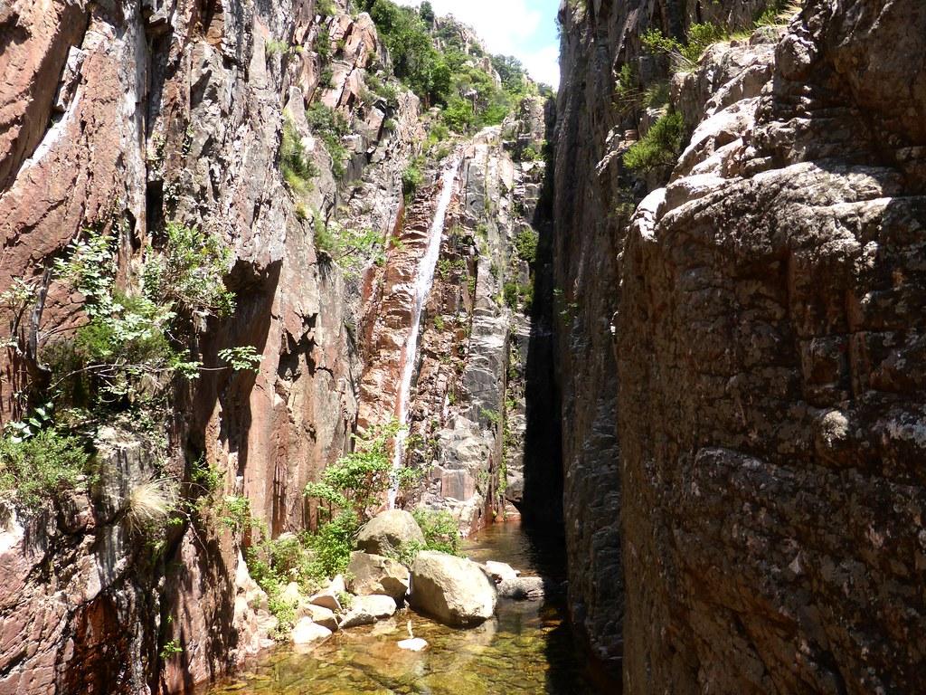 La 3ème cascade (en montée) du Niffru
