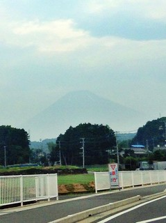 Pale Mt.Fuji 薄っすら富士山 7/24/2014 | by Cool-Rock.com