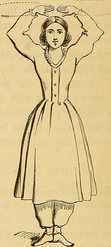 "Image from page 195 of ""Hand-book of calisthenics and gymnastics : a complete drill-book for schools, families, and gymnasiums : with music to accompany the exercises"" (1864) 