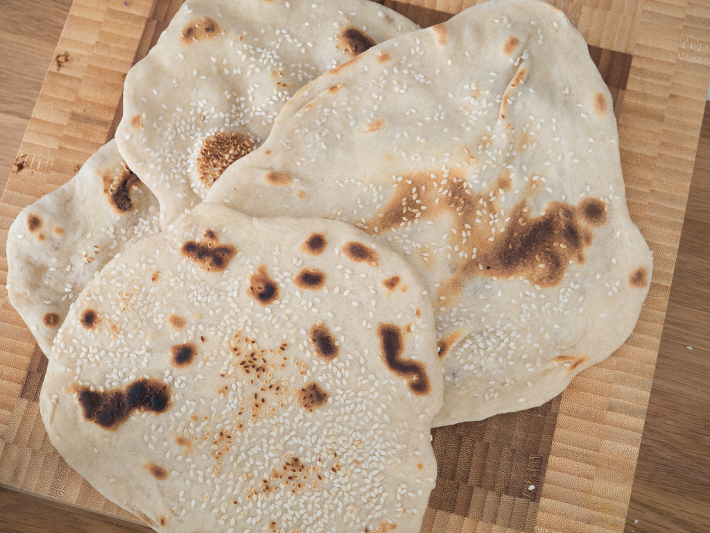 Recipe for Homemade Naan Bread