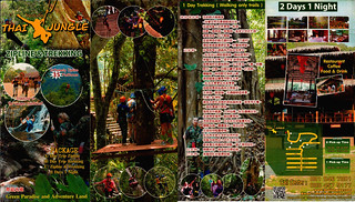 Brochure Thai Jungle Zipline and Trekking Chiang Mai Thailand 03