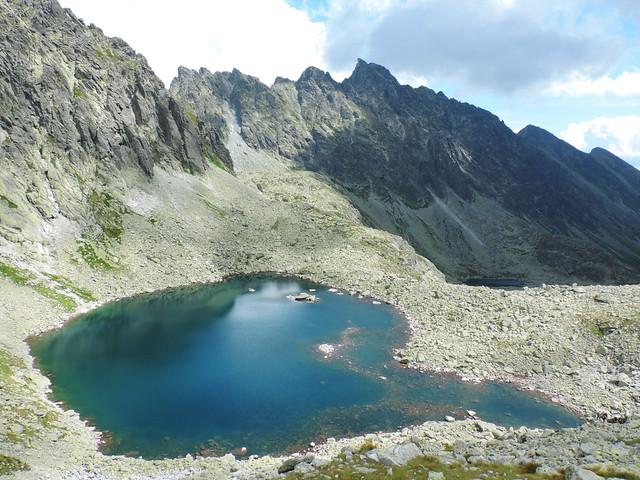 Alpine lakes: Capie pleso, High Tatras, Slovakia