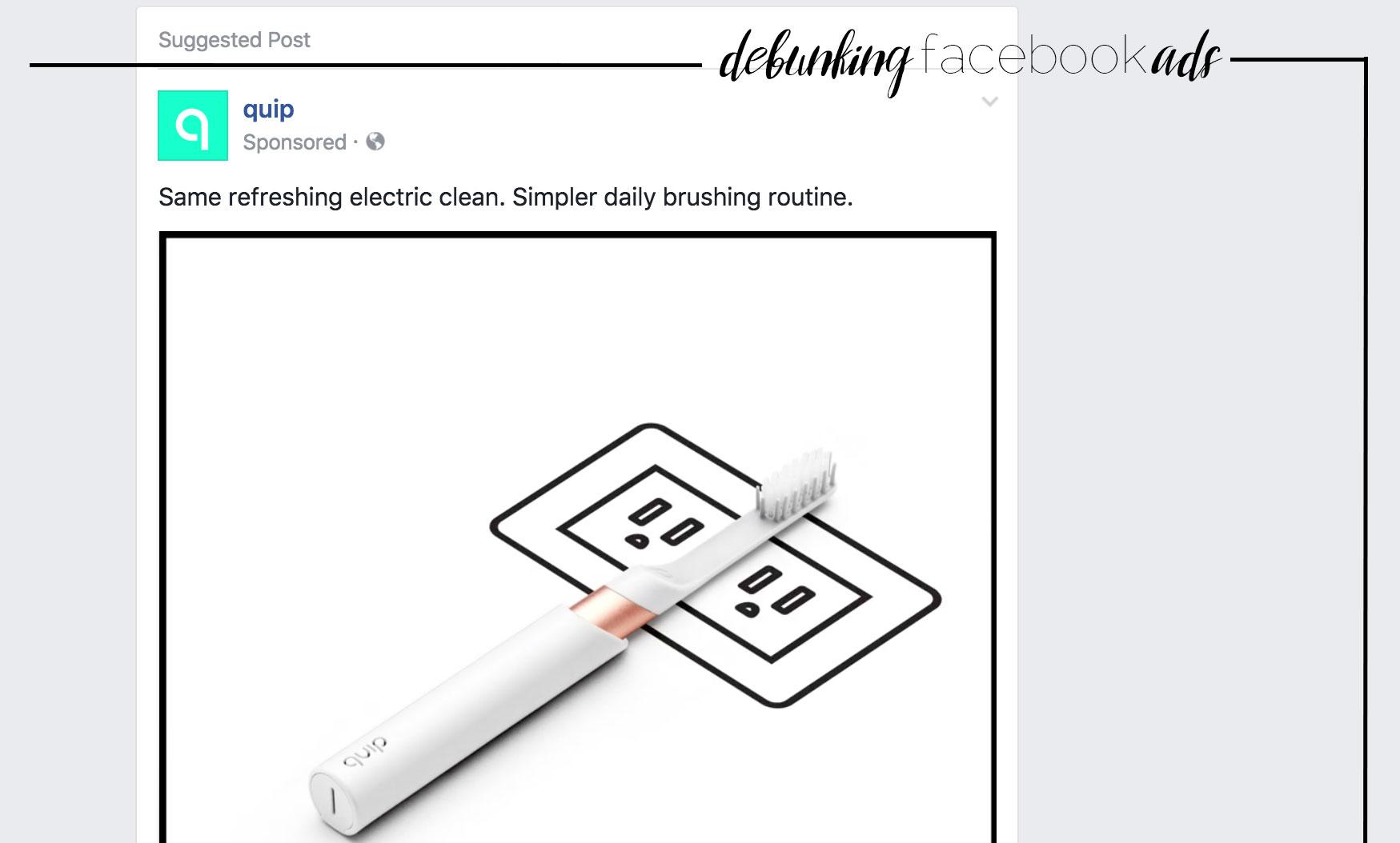 Debunking facebook ads