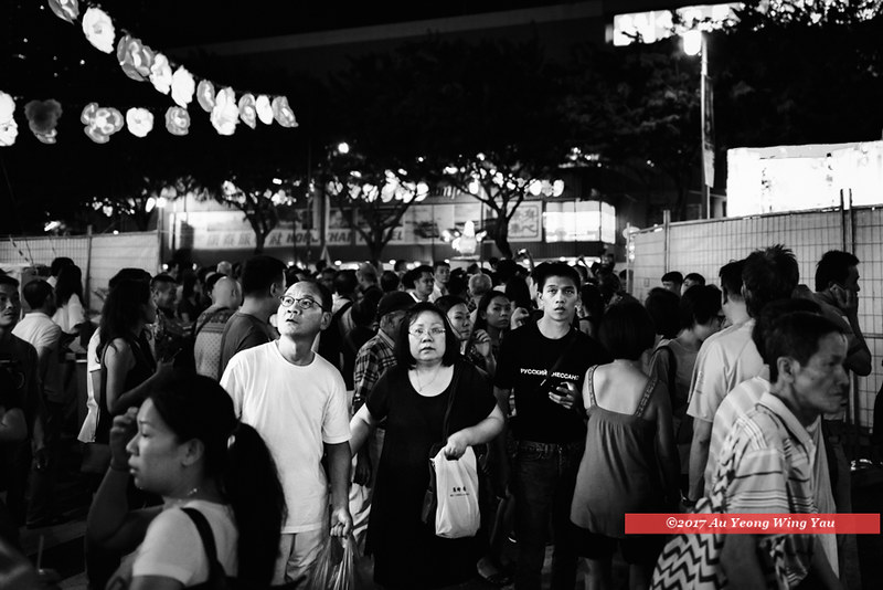 Singapore 2017: Chinatown - Faces In The Crowd