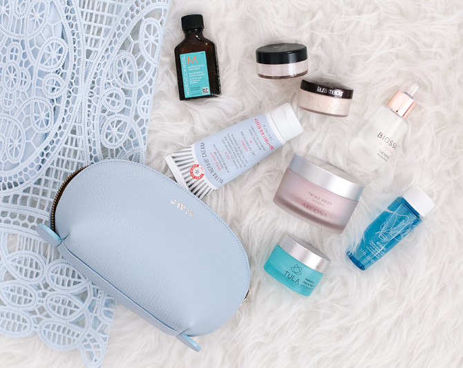 favorite travel sized skincare beauty products