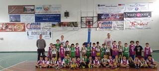 Scuole mini Basket Dinamo Putignano, Casamassima e Noci insieme