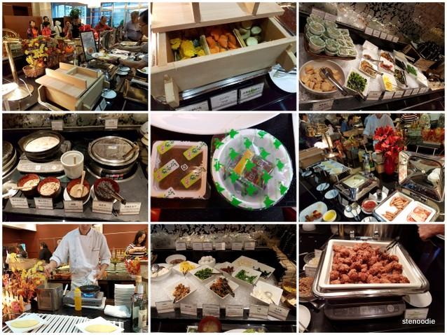 Hotel Mercure Sapporo continental breakfast