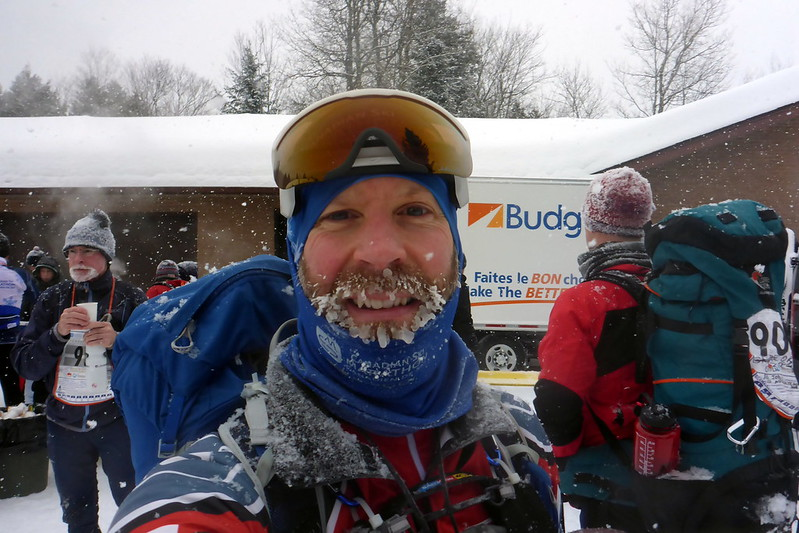 Frozen Beard at Checkpoint