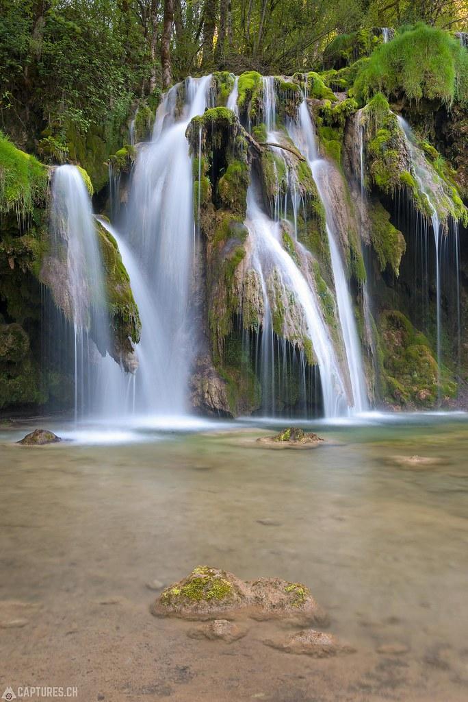 Cascades de tufs 2 - Jura France