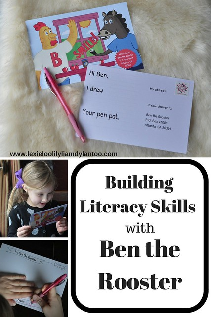 Building Literacy Skills with Ben the Rooster