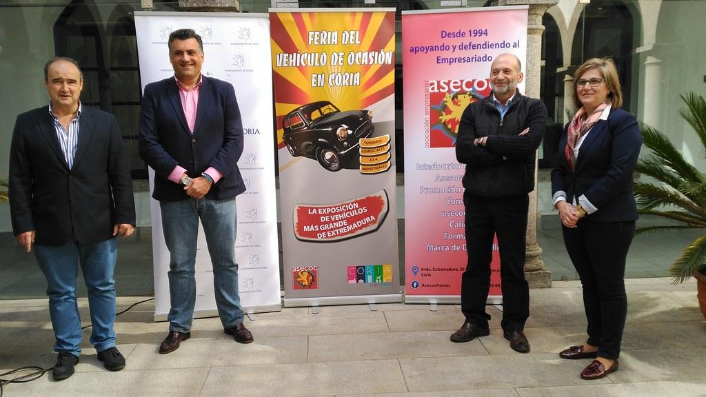 La IX Feria del Vehículo de Ocasión se celebrará los días 7, 8 y 9 de abril en Coria