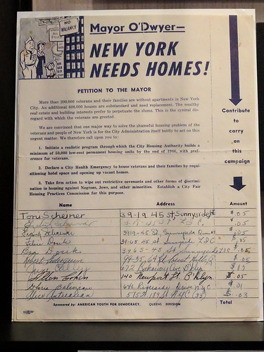 Need homes? Build homes (even the Communist youth thought so in 1946)