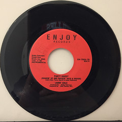 LARRY DALE:PARTY HARDY(RECORD SIDE-B)