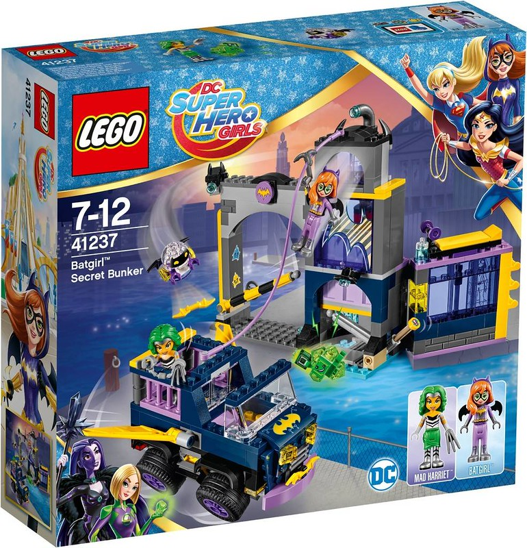 LEGO DC Super Heroes Girls Estate 2017 - Batgirl Secret Bunker (41237)