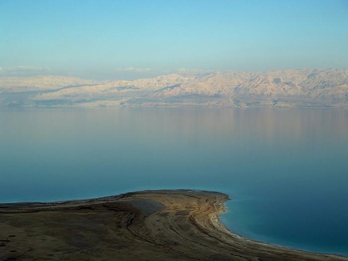 死海。圖片來源:Yael Kiro/Lamont-Doherty Earth Observatory