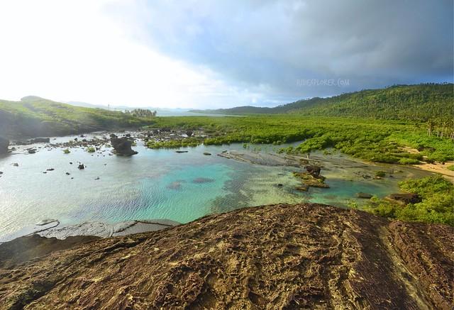 biri island bel-at rock formation