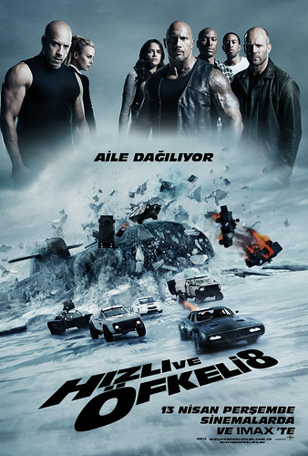 Hızlı ve Öfkeli 8 - The Fate of the Furious (2017)