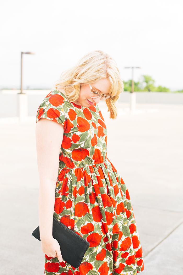 austin fashion blogger spring wedding outfit vintage dress15
