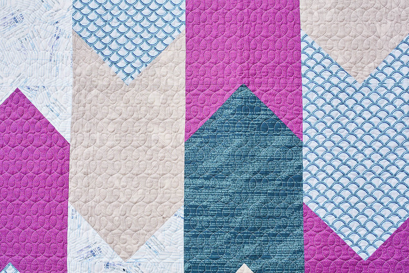Bookmark Quilt quilting