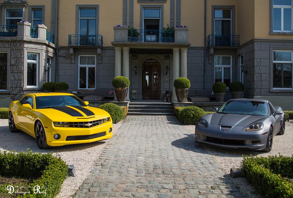 Chevrolet Camaro Vs Chevrolet Corvette C6 Z06 Location Ka Flickr