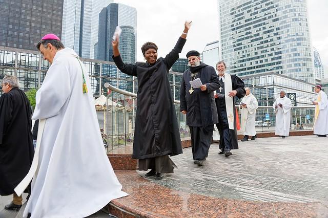Pâques oecuménique à La Défense - #50ansdiocèse92