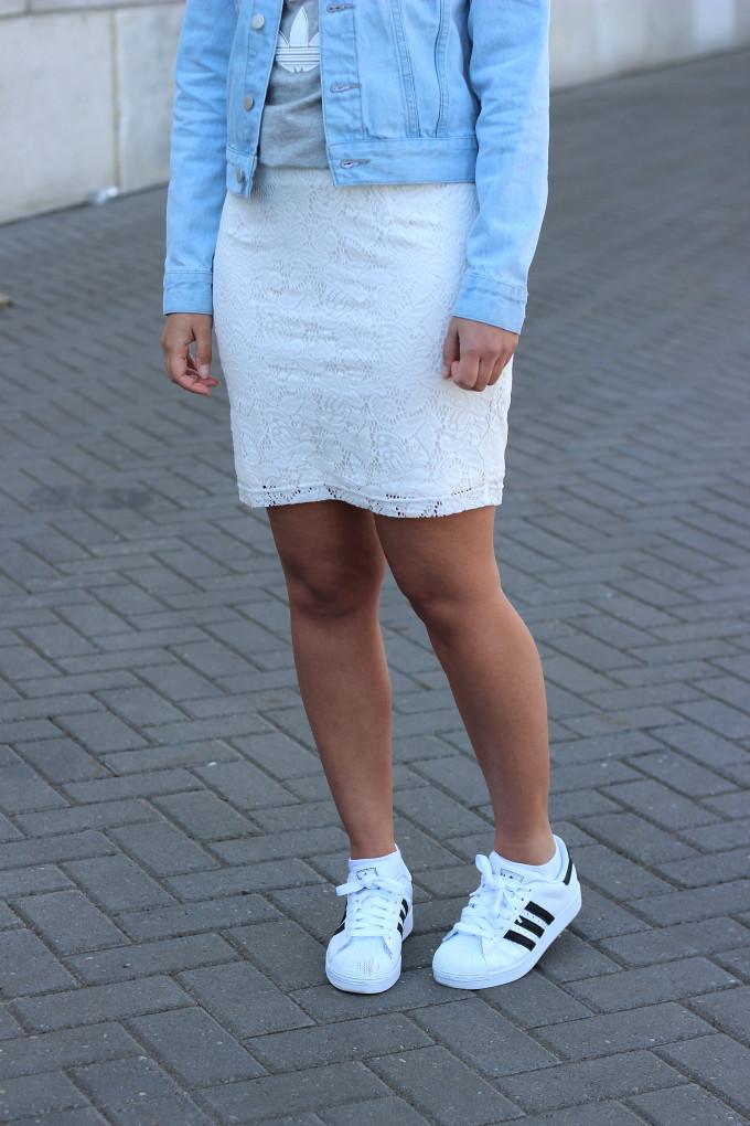 adidas superstar woman white